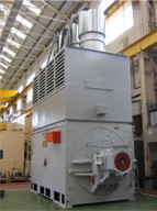 Photo of an Avantair, heat pipe technology, an advanced air-to-air cooler for challenging environment